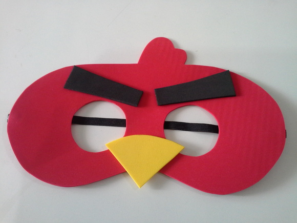 mascara red angry birds