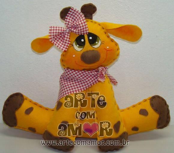 Girafa enfeite de mesa