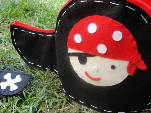 Chap�u e tapa olho de pirata