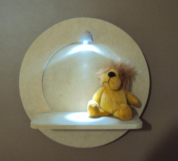 Quadro Para Quarto De Bebe Com Led ~ quadro com led porta de maternidade red luz de led