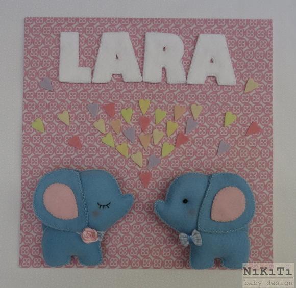 Quadro Maternidade Elefantinho