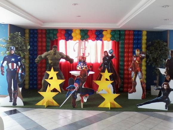 decoracao festa surpresa : decoracao festa surpresa:Decoração Vingadores