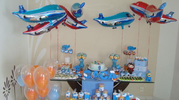 decoracao festa super wingsfestaaviaopersonalizadofestaaviao