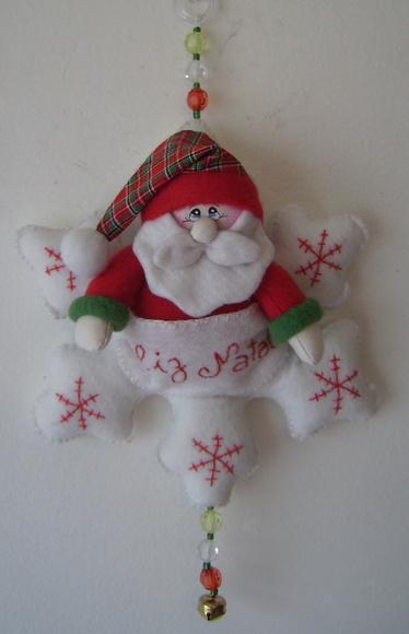 Floco de Neve Papai Noel