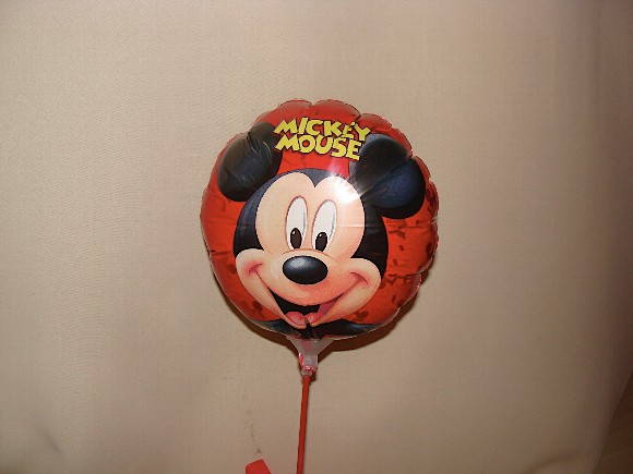 BALAO  DO MICKEY metalizado