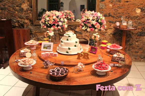 Decora??o Mini Wedding Niter?i Luana Tavares atelier Elo7
