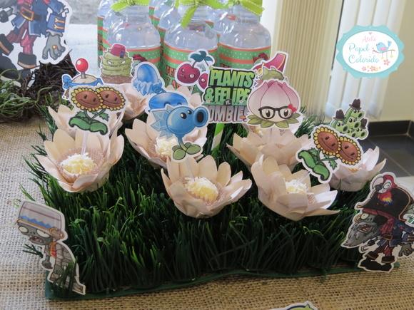 decoracao festa zumbi:Kit festa Premium Plants vs Zombies