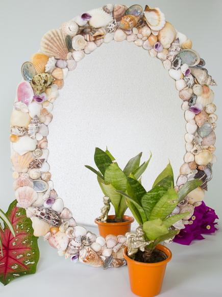 Espelho Conchas do Mar