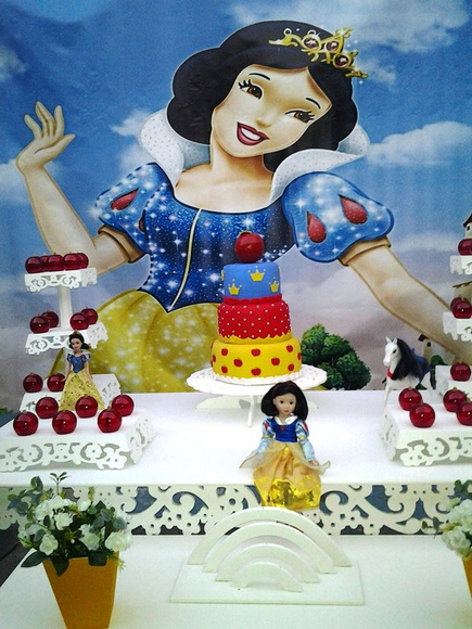 decoracao festa infantil branca de neve provencal : decoracao festa infantil branca de neve provencal:Decoração Festa Infantil Branca de Neve