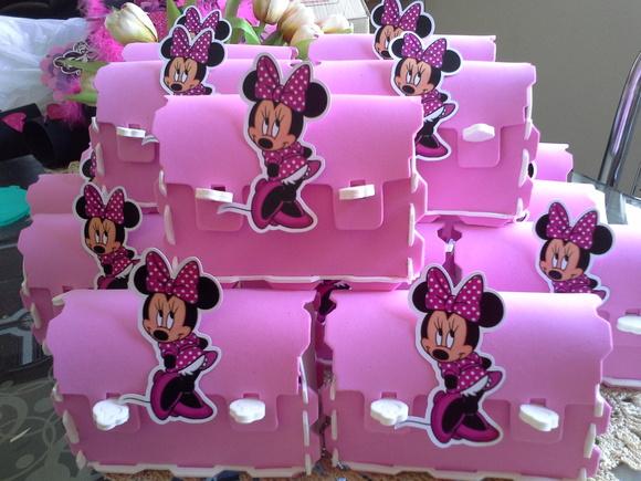 bolsinha surpresa minnie rosa  M&M Lembrancinhas  Elo7