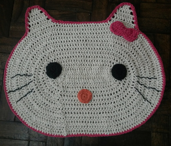 Tapete Hello Kitty Artes KrauKlis Elo7 ~ Tapetes Quarto Hello Kitty
