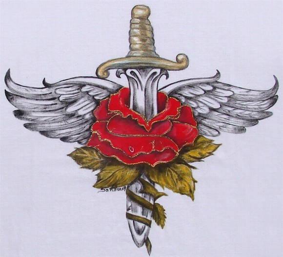 Bildergebnis für espada rosas