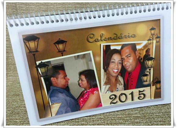 Calendario de mesa pura arte e encantos elo7 - Calendario de mesa ...