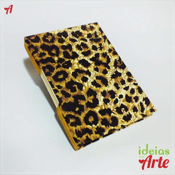 Caderno pequeno oncinha