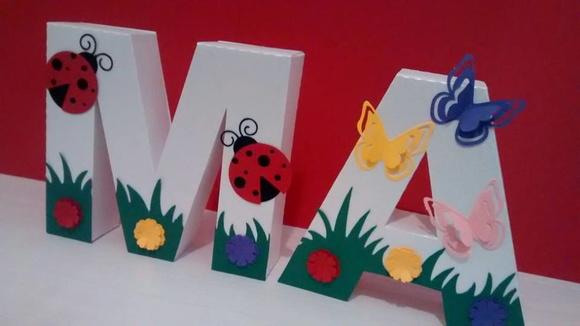 Letra 3D Tema Jardim ~ Banco De Jardim Azeitonas Letra