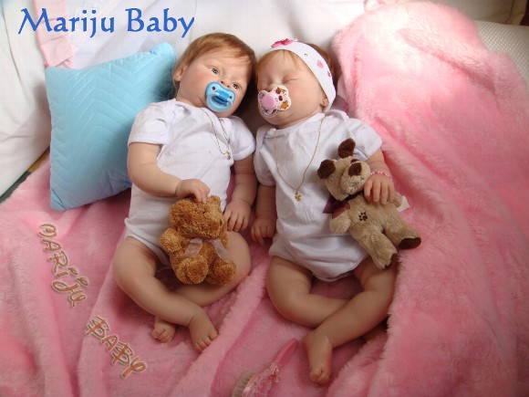 Beb�s Reborn Gemeos Felipe e Manoela