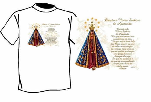 Nossa Senhora Aparecida Para Camisa: Nossa Senhora Aparecida - JPRC 146