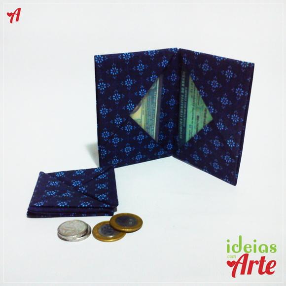 FRETE GRÁTIS Porta documentos e moedas