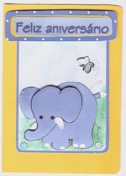 Cart�o convite infantil 1
