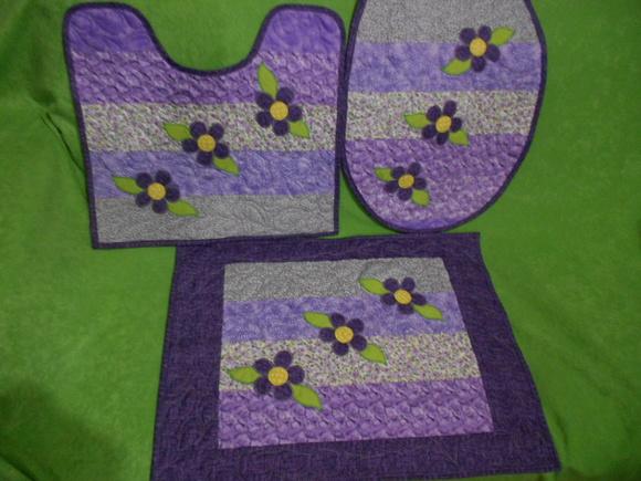 Patchwork Tapete De Banheiro : jogo-tapetes-para-banheiro-em-patchwork-patchwork