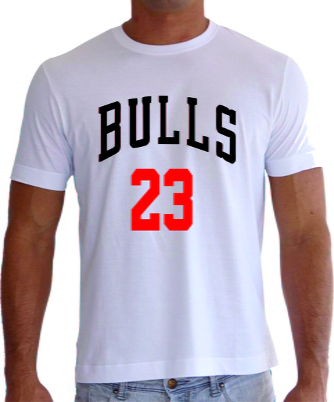 Camiseta Nba Jordan Bulls Basketball no Elo7 - UC Camisetas (50305E)