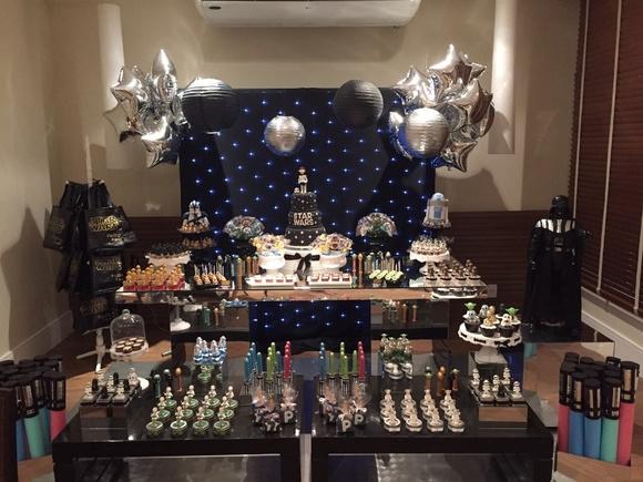 decoracao festa star wars:decoracao-star-wars-decoracao