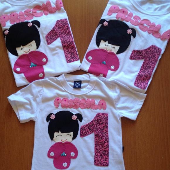 decoracao festa kokeshi:kokeshi-camiseta-kokeshi-festa-kokeshi-decoracao-kokeshi