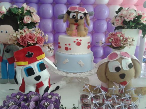 decoracao festa infantil patrulha canina : decoracao festa infantil patrulha canina:decoracao-festa-patrulha-canina-menina-patrulha-canina