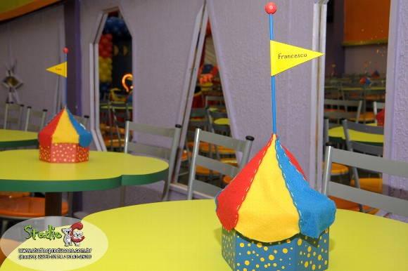 Centro de mesa circo - Imagui
