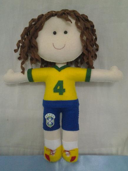 Artesanato Lembrancinhas Passo A Passo ~ Jogador de futebol no Elo7 CANTINHO DO ARTESANATO DA LU (55DC80)