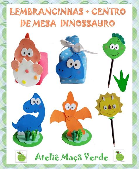 Moldes Em Eva De Dinossauros
