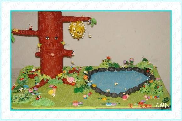 enfeites de sapo para jardim:Enfeite para mesa do Jardim Encantadopodemos fazer suas