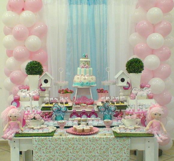 decoracao de bolas tema jardim encantado:Festa jardim encantado + bolo + doces