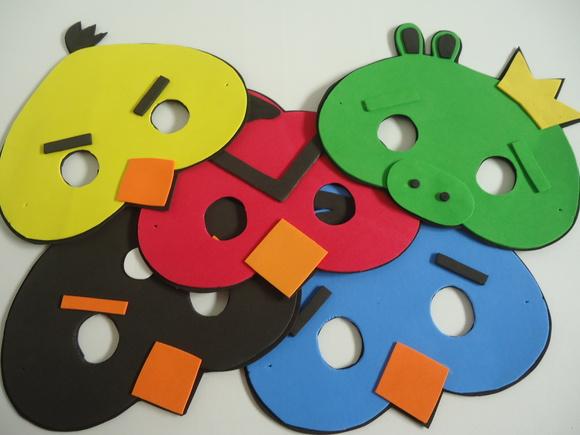 Máscara da Angry Birds