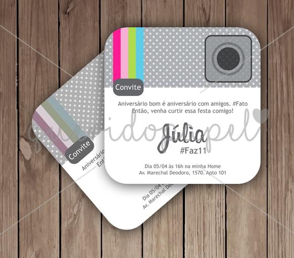 Festa Instagram | Kit Digital 28 peças