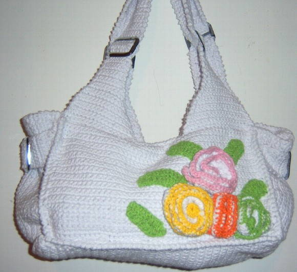 BOLSA MINHA PAIXO (BRANCA)