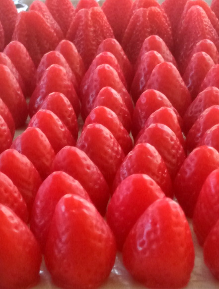 Sabonete morango medio