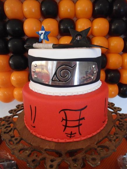 decoracao festa naruto:bolo-cenografico-naruto-bolo-naruto