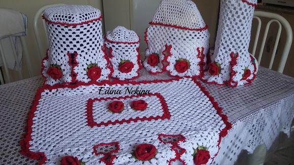 kit decoracao cozinha:kit-coxinha-kit-cozinha-de-croche