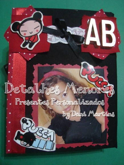 �lbum de Fotos Decorado - Pucca