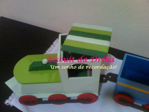 KIT TRENZINHO - LITTLE TRAIN
