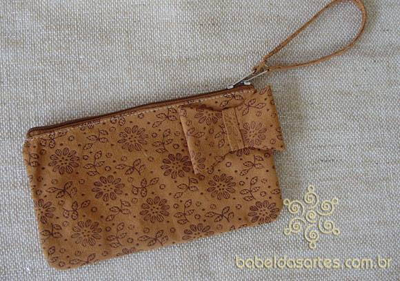 Clutch camur�a chocolate