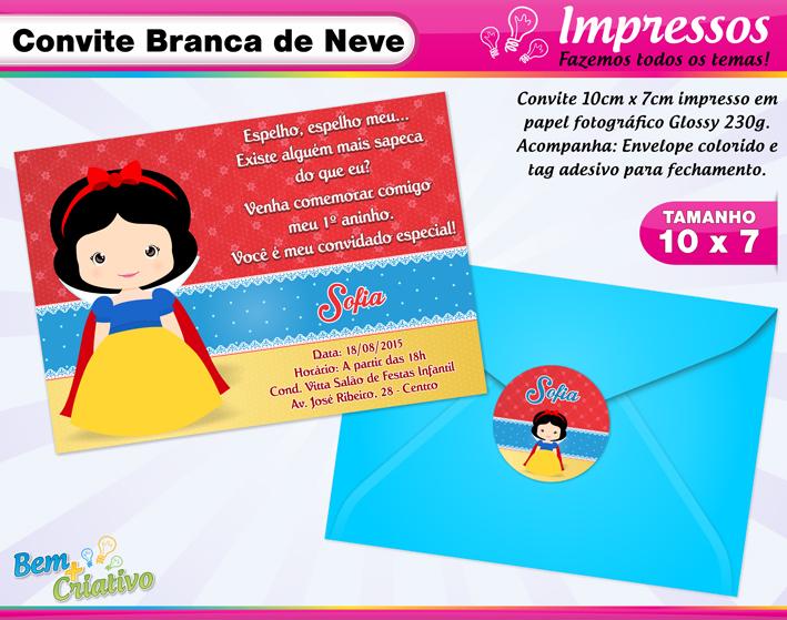Tag Frases Para Convite De Aniversario Branca De Neve