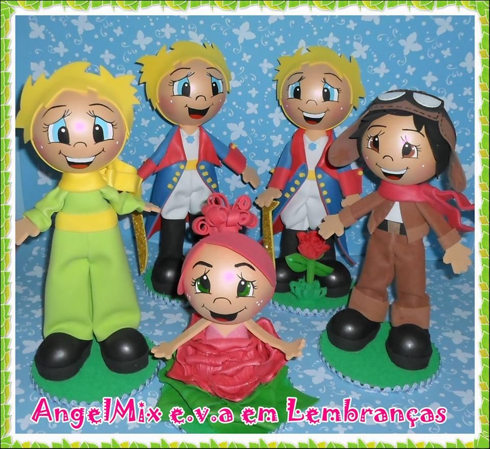 Enfeite De Kit ~ Kit festa Pequeno Príncipe 2 AngelMix e v a em Lembranças Elo7