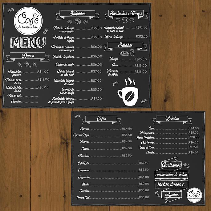 Cafe Aura Menu