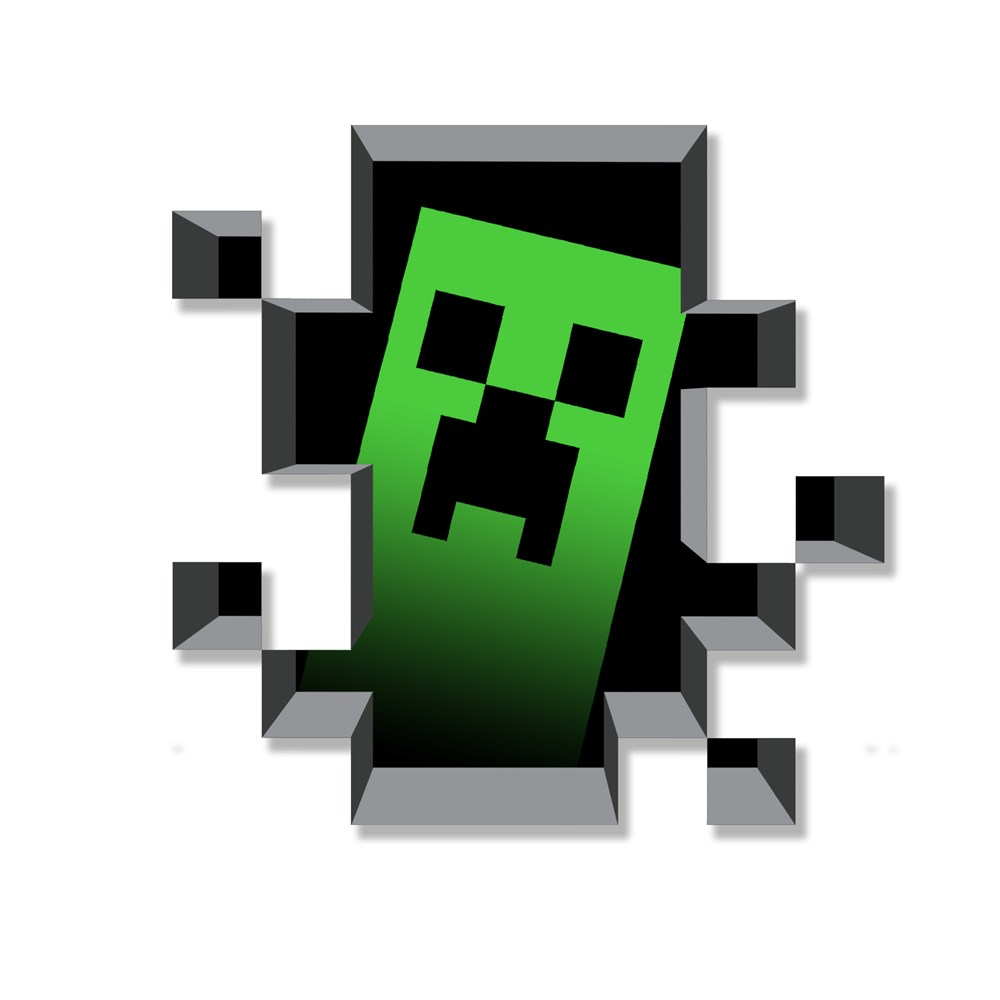 Minecraft Material Design Logos