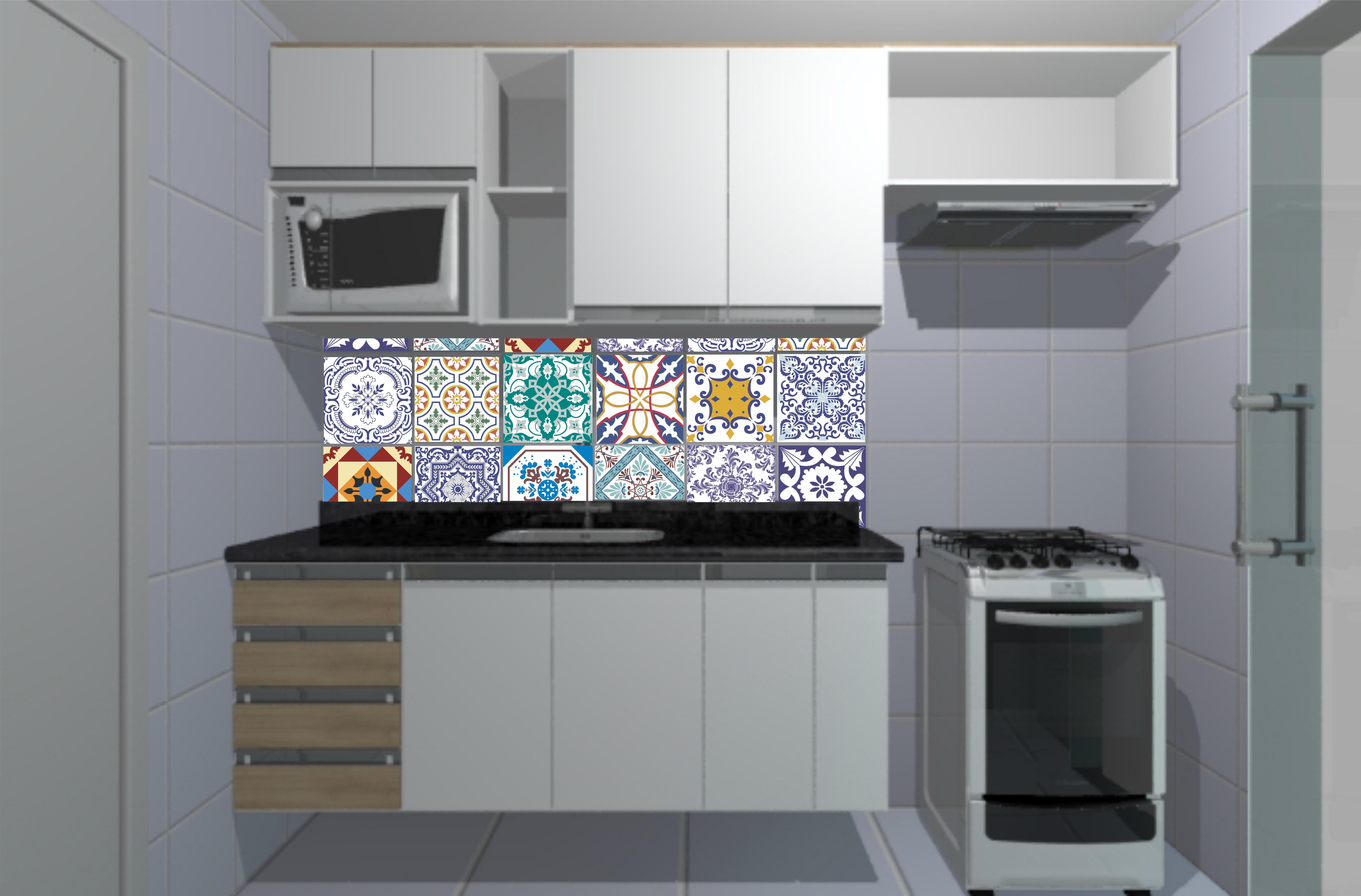 Azulejo Cozinha Deitado Beyatocom Vários Desenhos Sobre Idéias