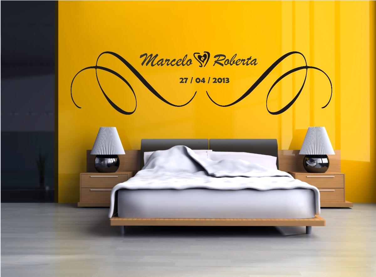 Adesivos para cabeceira de cama casal  Aarte Decoor  Elo7
