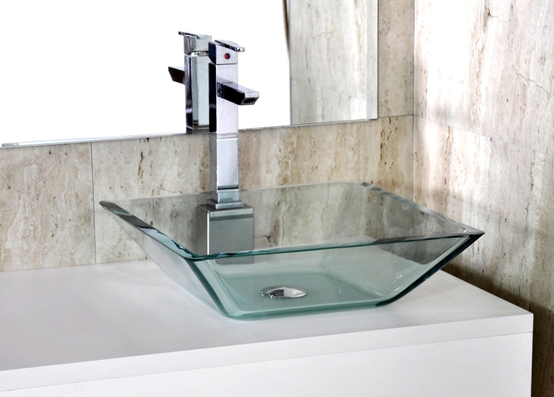 em vidro prisma 45 5x35 cm cuba de vidro para banheiro cuba em vidro ...