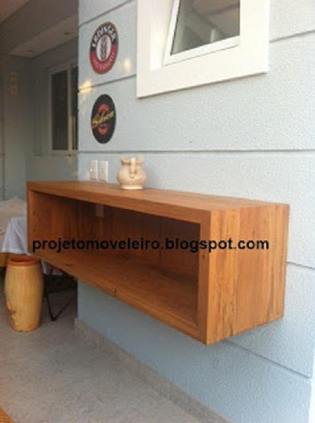 Aparador Suspenso ~ Aparador suspenso madeira de demoliç u00e3o Lalo Art Decor Elo7